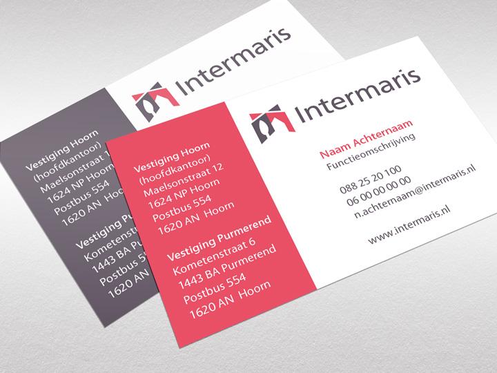 Woningcorporatie Intermaris Visitekaartje