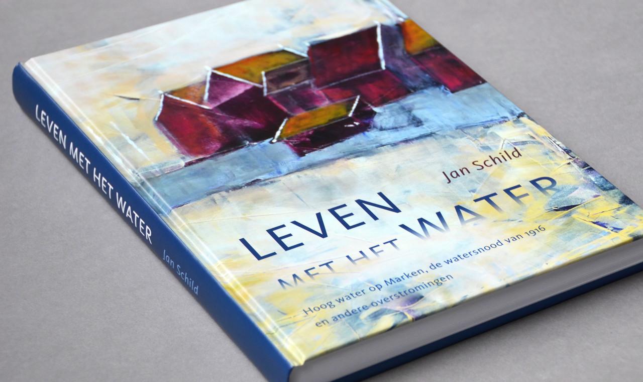 Jan Schild - Cover boek Leven met het water
