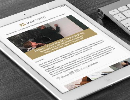 Ontwerp digitale nieuwsbrief