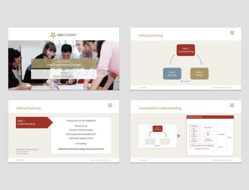 Ontwerp powerpoint template