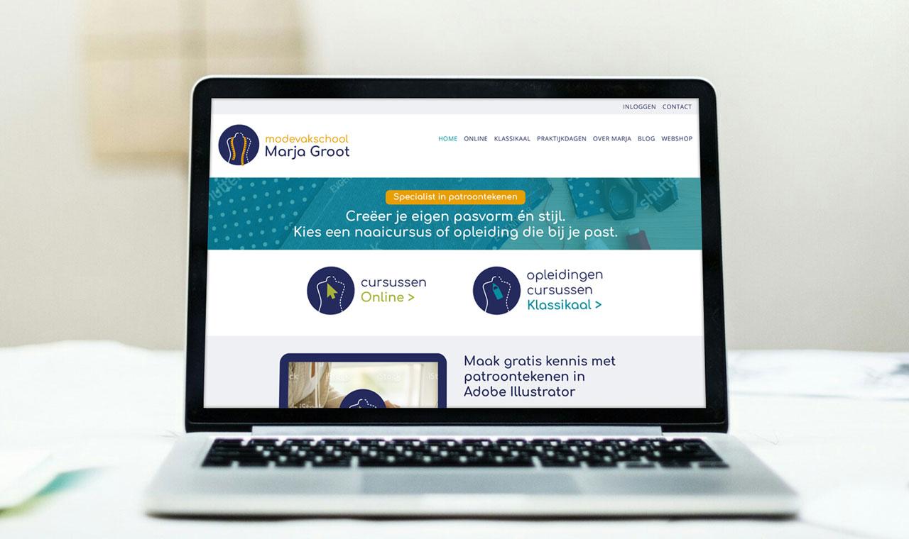 Ontwerp-website-Modevakschool-Marja-Groot-slide